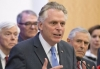 Virginia Gov. Terry McAuliffe during a press conference at the Capitol in Richmond, VA.