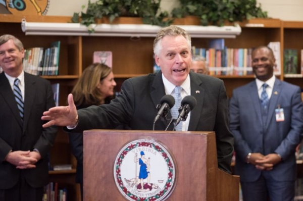 Virginia governor signs order restoring voting rights for felons