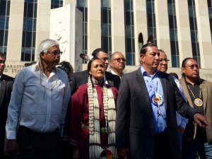 As Protests Spread Nationwide, Federal Court Halts Pipeline Construction Near Sacred Native Land