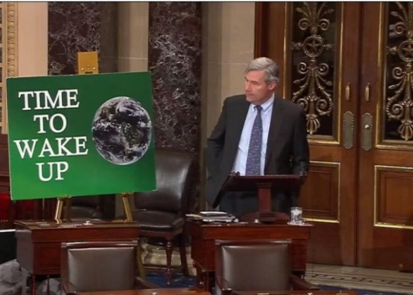 Sheldon Whitehouse: Sue Fossil Fuel Companies For Climate Fraud