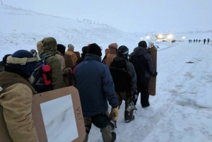 Veterans Arrive at Standing Rock to Act as 'Human Shields' for Water Protectors
