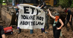 Faced with a new state law that effectively criminalized peaceful protests of pipelines, activists have put their bodies and freedom on the line to oppose the Bayou Bridge project in Louisiana.